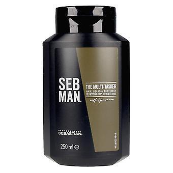 Shampoo The Multitasker 3 in 1 Seb Man