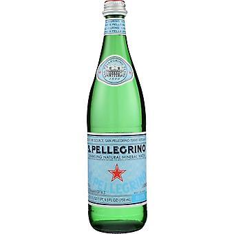 San Pellegrino Water Sprklng Mineral, Case of 12 X 750 ml