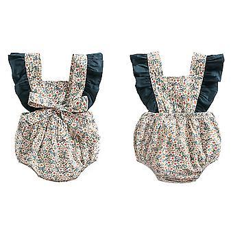 Baby Girl Clothes , Baby Girl Jumper Short Sleeve Onesie(XL)