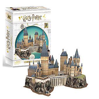 Harry Potter Hogwarts Castle 3D Model Jigsaw Puzzle (197 Pieces)