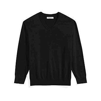 Essentials Herren Großer und großer V-Ausschnitt Pullover