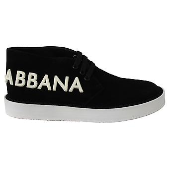 أسود الجلد ديربي شعار أحذية رياضية عادية أحذية ديربي