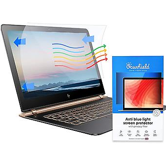 Anti Blue Light Screen Protector with Privacy Filter - Blue Blocking Computer Monitor Screen