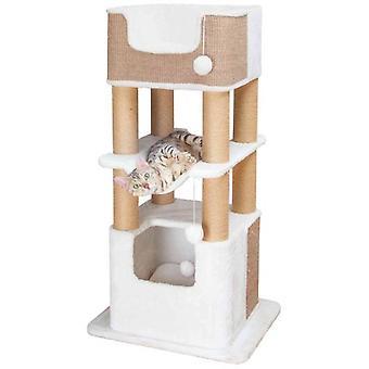 Trixie Lucano Kratzbaum, 110 Cm, Weiß         (Katzen , Spielzeug , Kratzbäume)