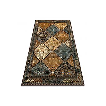 Wool rug POLONIA Astoria oriental, cognac beige