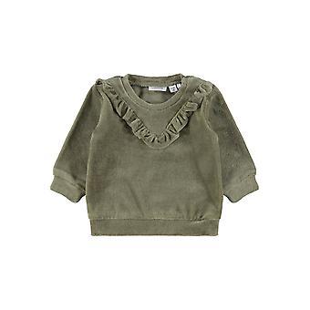 Name-it Girls Newborn Sweater Velour Naya