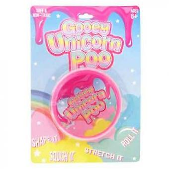 Gooey Unicorn Poo Putty Toy