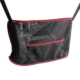 Car Seat Storage Net Pocket Storage Bag Car Storage Bag(Red)
