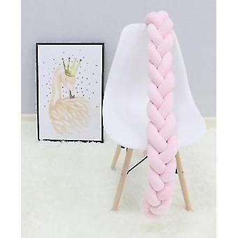 Almohada de nudo trenzado protector de cuna (100/200/300cm)