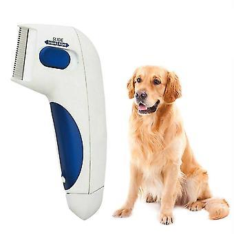 Pet Flea Lice Cleaner Electric Comb -  Anti Flea Cleaning Brush