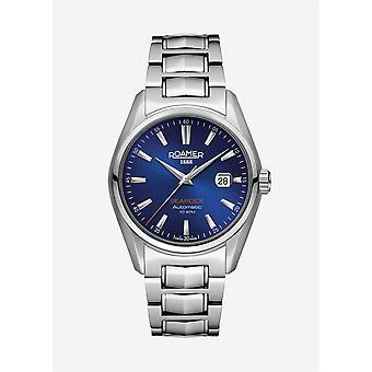 Roamer 210633 41 45 20 Searock Automatic Blue Dial Wristwatch