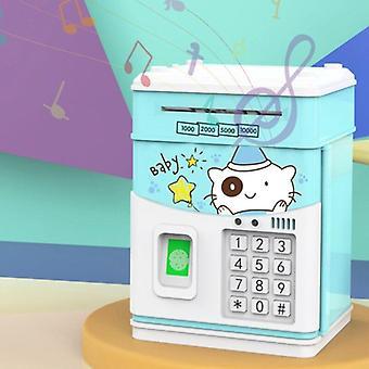 الاطفال عملة البنك مع رمز، والبنوك المال الإلكتروني مربع المال للأطفال، والأطفال البنك الآمن