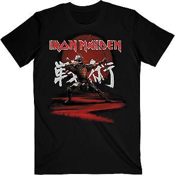 Iron maiden unisex t-skjorte: senjutsu eddie archer kanji