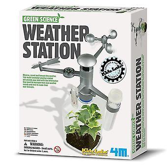 Science exploration sets weather station - children's creative set