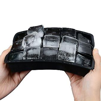 1pc Easy-release Square Shape Ice Cube Tace Formy do ice candy cake pudding czekoladowe formy