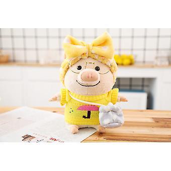 Reizende pig doll aankleden varken pluche speelgoed kleding varken pop