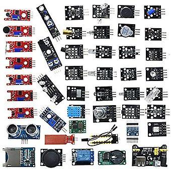 45 Az 1-ben szenzormodulok kezdőkészlete Arduino Mega 2560 Nano, Diy Kit kezdőknek