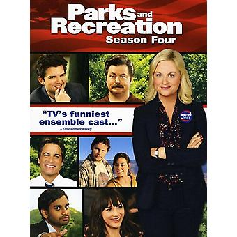 Parks & Recreation - Parks and Recreation: Season Four [4 Discs] [DVD] USA import