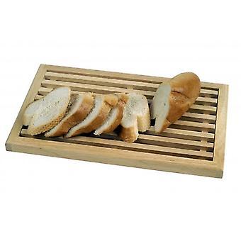 切削ボード 40x25cm 木製クラム キャッチャー パン