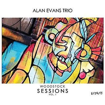 Alan Evans - Woodstock Sessions 1 [CD] USA import