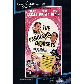 Fantastisk Dorseys (1947) [DVD] USA importere