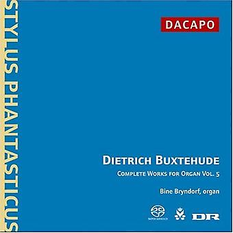 D. Buxtehude - Buxtehude: Complete Works for Organ, Vol. 5 [CD] USA import