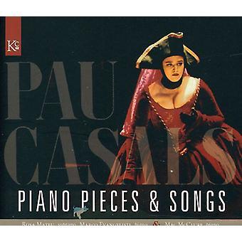 P. Casals - Casals: Piano Stücke & Lieder [CD] USA import