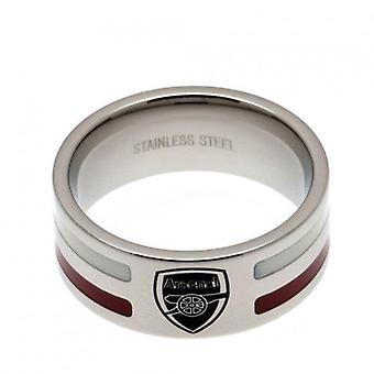 Arsenal farve stribe Ring Medium