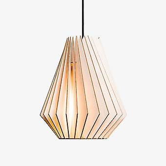 Iumi Iumi Hektor L Cone Shaped Pendant - Birch Finish