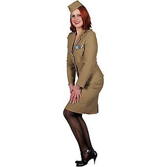 Vrouwen kostuums vrouwen Officer's Lady 1940