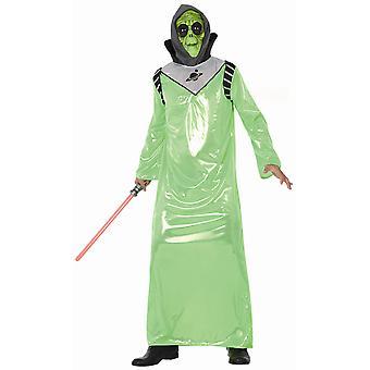 Herren Kostüme Alien verkleiden Kostüm für Erwachsene