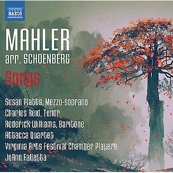 Mahler / Schoenberg / Platts / Reid - Mahler: canções Arr por importação EUA Schoenberg [CD]
