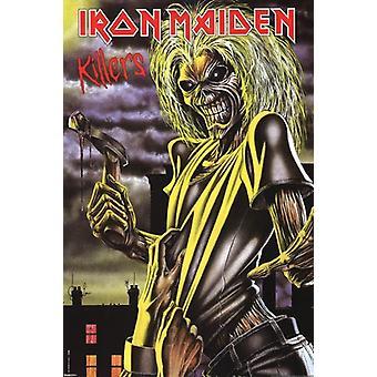 Iron Maiden - Killers affisch affisch Skriv