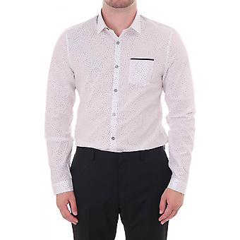 Paul Smith London Line Mens Sc Slim Fit Shirt With