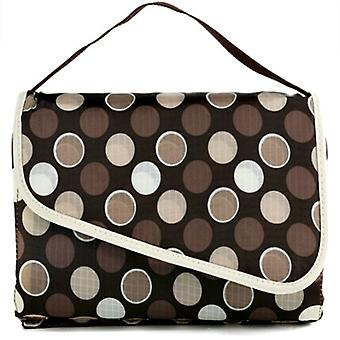 Baby Changing Mat - Beige Dot