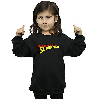 DC Comics Girls Superman Telescopic Loco Sweatshirt