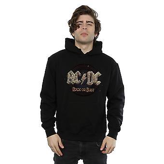 AC/DC мужчин рок или бюст балахон
