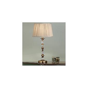 Intérieurs 1900 LX124TB + lampe de Table lumineuse unique Polina LX123SHW