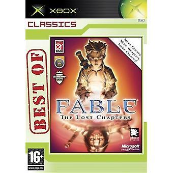 Fable de verloren hoofdstukken-Best of Classics (Xbox)-nieuw