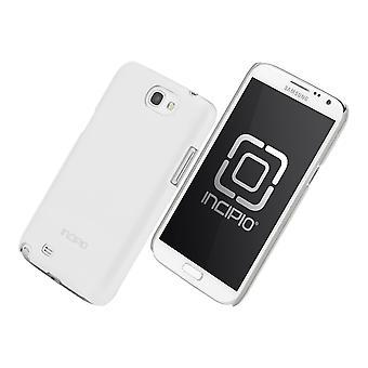 Incipio fjær skinne tilfelle for Samsung Galaxy Note 2 (hvit)