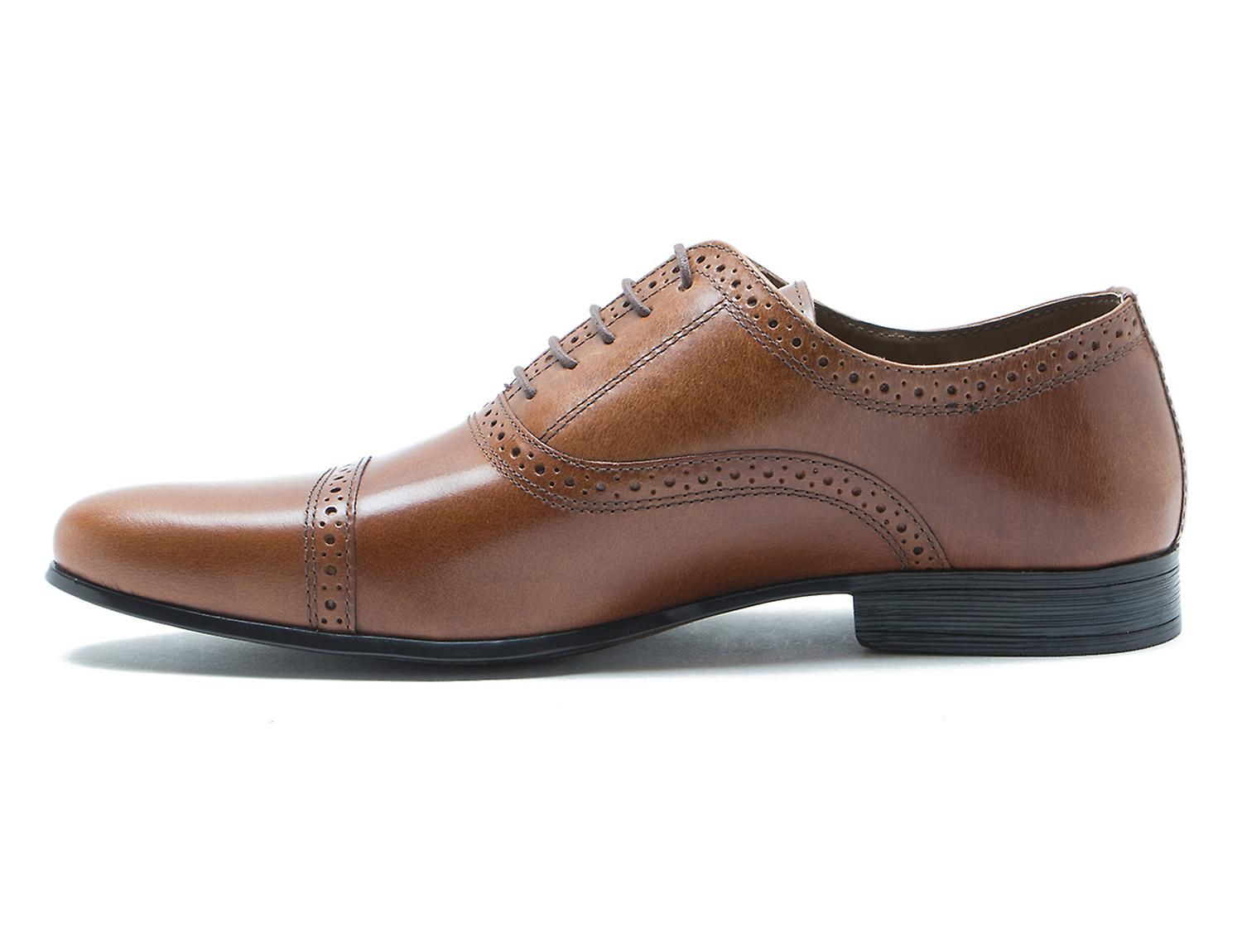 Paperasserie Fenny Tan Cuir robe lacets chaussures