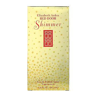Elizabeth Arden Red Door Shimmer Eau De Parfum Spray 3.4Oz/100ml New In Box