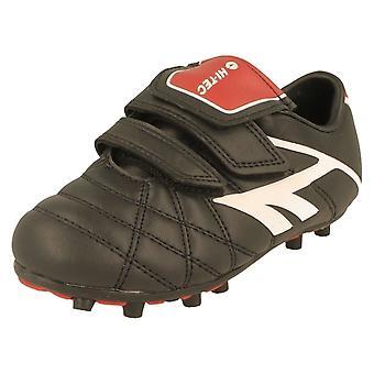 Hi-Tec Boys Football Boots; League Pro Moulded EZ JR