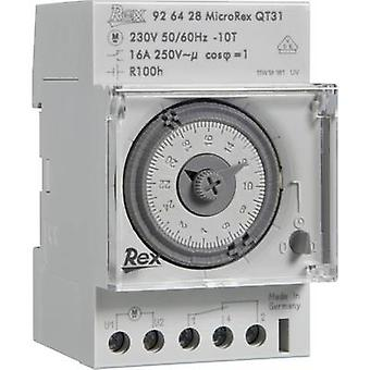 REX Zeitschaltuhren 925429 DIN raylı montaj zamanlayıcısı 230 V 16 A/250 V