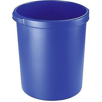 HAN 1834-14 Waste paper basket 30 l (Ø x H) 303 mm x 410 mm Blue 1 pc(s)
