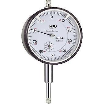 HELIOS PREISSER 0701103 dial Gauge 10 mm leitura: 0, 1 mm