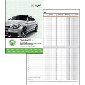 Sigel FA514 A5 Log book No. of sheets: 32 White 32 sheet