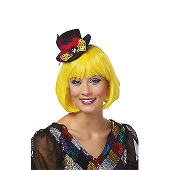 Paillettenhut Haarreif Hut Silvester Accessoires Karneval Halloween