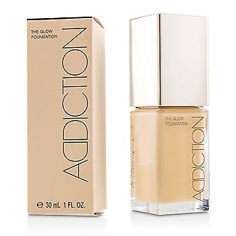 Addiction The Glow Foundation Spf 20 - # 010 (almond Beige) - 30ml/1oz