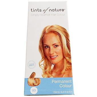 Tints of Nature, mycket ljus Guldblond (9D), 130ml
